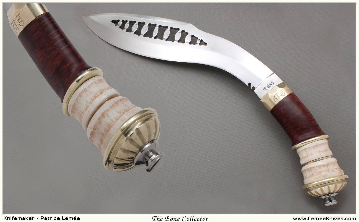 Khukuri Bone Collector